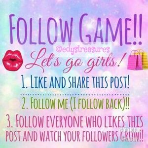 Tops - LET'S FOLLOW EACH OTHER & GROW 💕Share💕